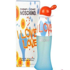 Moschino Cheap & Chic I Love Love Eau de Toilette 50ml Spray