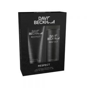David Beckham Respect Gift Set 150ml Deodorant Spray + 200ml Shower Gel