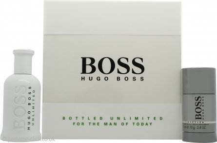 Hugo Boss Boss Bottled Gift Set 100ml EDT + 75g Deodorant Stick